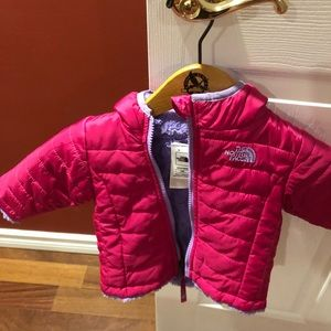 North face baby's jacket